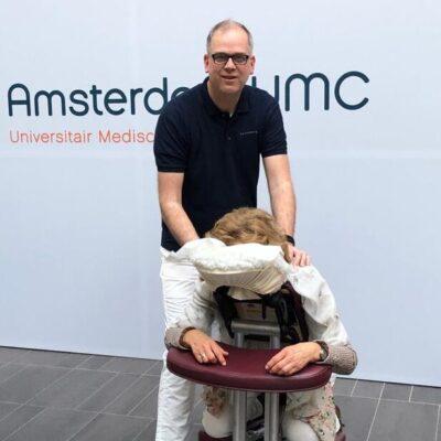Stoelmassage | Secretaressedag Amsterdam UMC